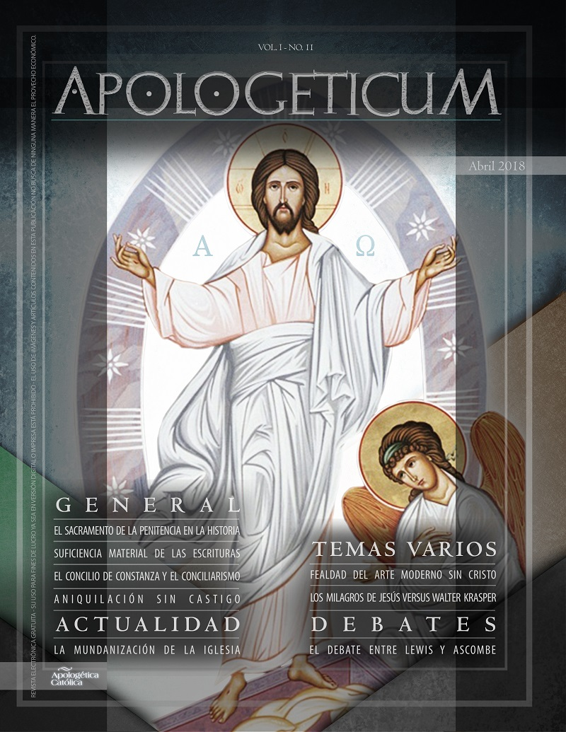 Apologeticum n.11 | Abril 2018