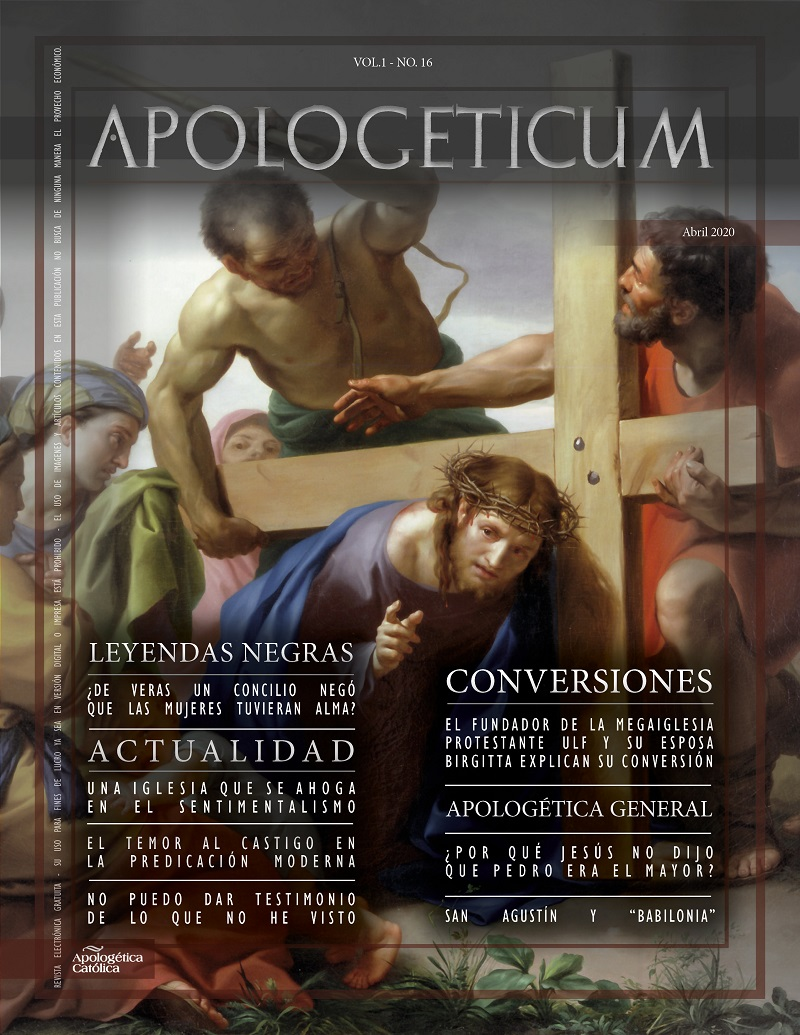 Apologeticum n.16 | Abril 2020